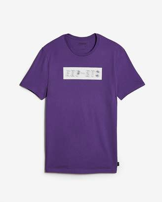 Express Wavy Exp Nyc Graphic Tee