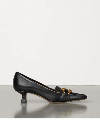 Bottega Veneta Loafers In Shiny Calf And Hair Calf