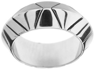 House of Harlow 1960 Palladium Plated Thick Stack Ring