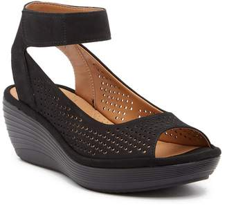 Clarks Reedly Salene Wedge Sandal - Wide Width Available
