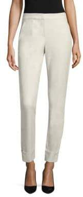 Armani Collezioni Tech Stretch Cotton Pants