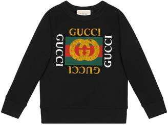 Gucci Children's sweatshirt with logo
