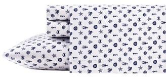Icons Poppy & Fritz Sea Sheet Set, Twin XL