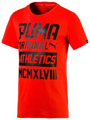 Puma Style Graphic T-Shirt, 4-16 Years