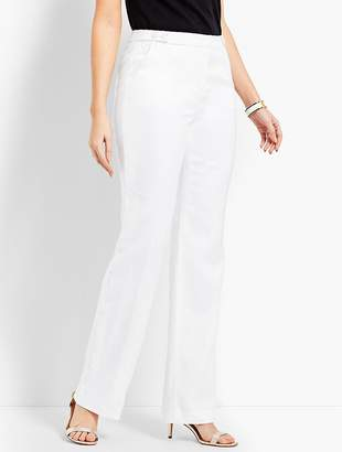 Talbots Windsor Wide-Leg Pant - Curvy Fit/Fully Lined