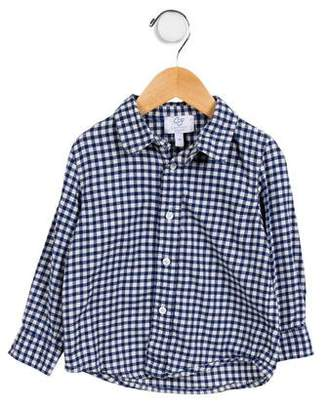 Baby CZ Boys' Checked Button-Up Shirt