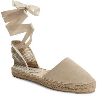 Manebi Women's Checkered Espadrille Sandal