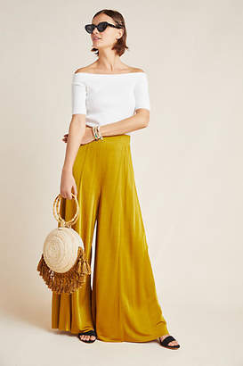 Maeve Shiloh Knit Wide-Leg Pants