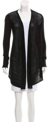 Tess Giberson Open Front Longline Cardigan