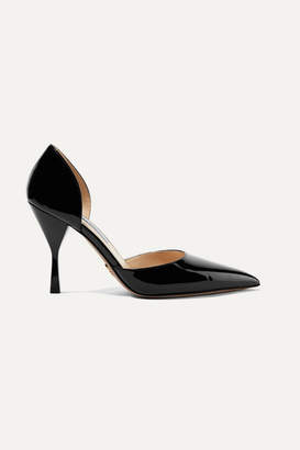 Prada 95 Patent-leather Pumps - Black