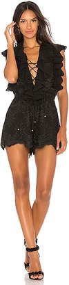 Shona Joy Antigua Lace Up Romper