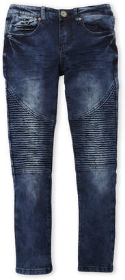 X-Ray X Ray (Boys 8-20) Moto Acid Wash Skinny Jeans
