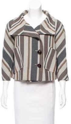 Derek Lam Oversize Patterned Jacket