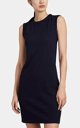 Helmut Lang Women's Cutout Cotton Jersey Midi-Dress - Dk. Blue