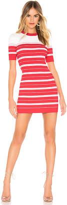 Amanda Uprichard Striped Sweater Dress