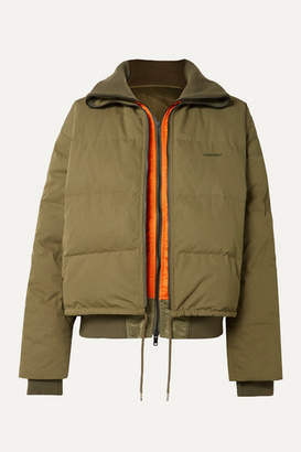 Ambush Reversible Padded Shell Down Jacket - Army green