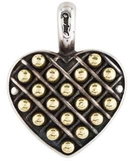 Lagos Caviar Heart Pendant