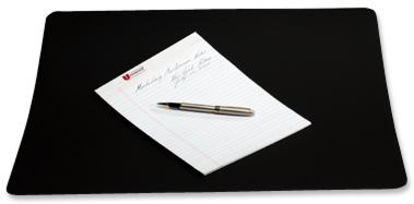 Black Desk Pad