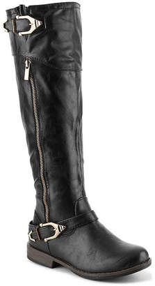 Journee Collection Barb Wide Calf Riding Boot - Women's
