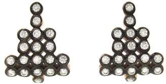 Yannis Sergakis Adornments Diamond Charnières Stud Earrings