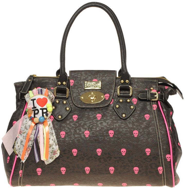 Paul's Boutique Neon Skull Twister Bag