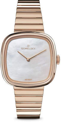Mother of Pearl Gomelsky 32mm Eppie Mother-of-Pearl Bracelet Watch