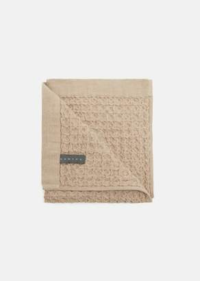 MORIHATA Lattice Hand Towel Beige