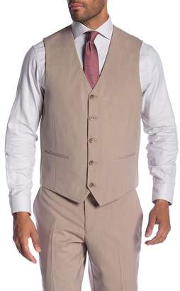 Co SAVILE ROW Cheshire Tan Modern Fit Vest