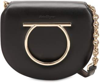 Salvatore Ferragamo Medium Vela Leather Shoulder Bag