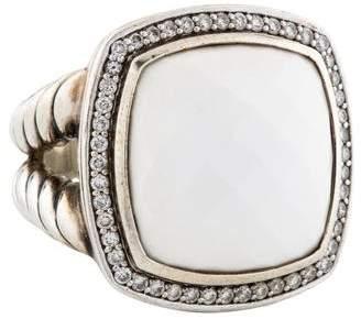 David Yurman Agate & Diamond Albion Ring