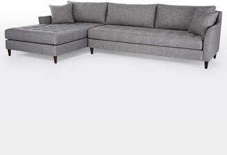 Rejuvenation Hastings Chaise Sectional Sofa