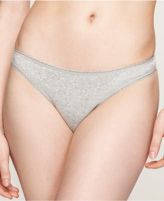 Charter Club Pretty Cotton Thong, Created for Macy's