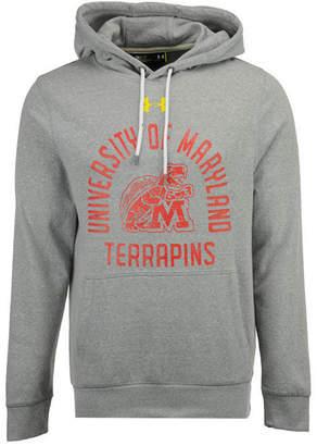 Under Armour Men's Maryland Terrapins Vintage Arch Tri-Blend Hoodie