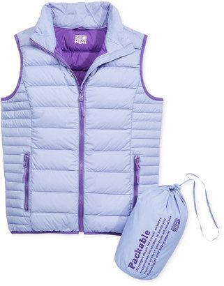 32 Degrees Girls' Packable Down Vest $85 thestylecure.com
