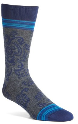 Men's Bugatchi Floral Socks $19.95 thestylecure.com
