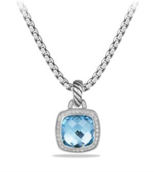 David Yurman Albion Pendant with Diamonds $900 thestylecure.com