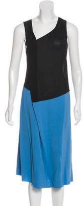Reed Krakoff Colorblock Midi Dress