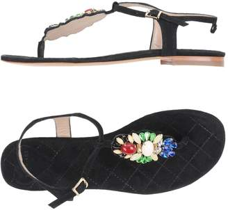 Twin-Set Toe strap sandals