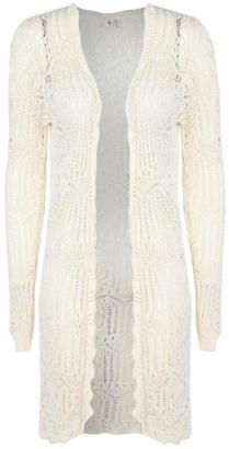 Dex Crochet Lace Cardigan $89 thestylecure.com