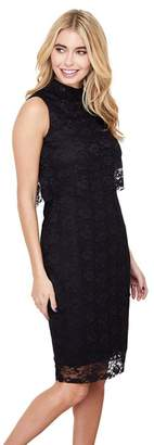 Yumi London - Black Layered Dress 'Eldoris' Dress