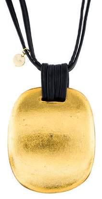 Viktoria Hayman Foil Pendant Necklace