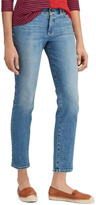 Chaps Women's Straight-Leg Ankle Jeans