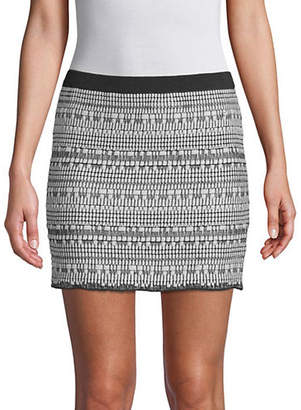 Helmut Lang Printed Mini Skirt