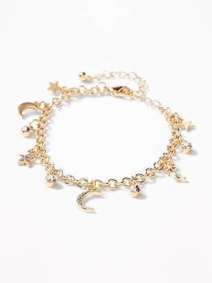 Old Navy Celestial Charm Bracelet for Women