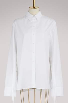Kenzo Shirred sleeves cotton shirt