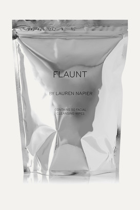 Lauren Napier Beauty - The Flaunt Package - Facial Cleansing Wipes X 50