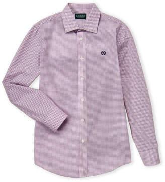 Lauren Ralph Lauren Boys 8-20) Pink Check Dress Shirt