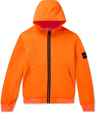Stone Island Slim-Fit Soft Shell Hooded Jacket