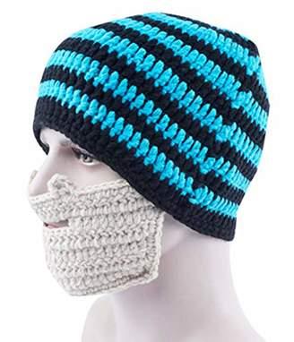 4d701b9fe18a AIEOE Beard Caps Bearded Beanie Knit Original Hats Ski Windproo Cap Warm  Winter Maskunny Hat Snowace