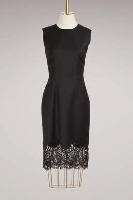 Givenchy Light Wool Lace Dress